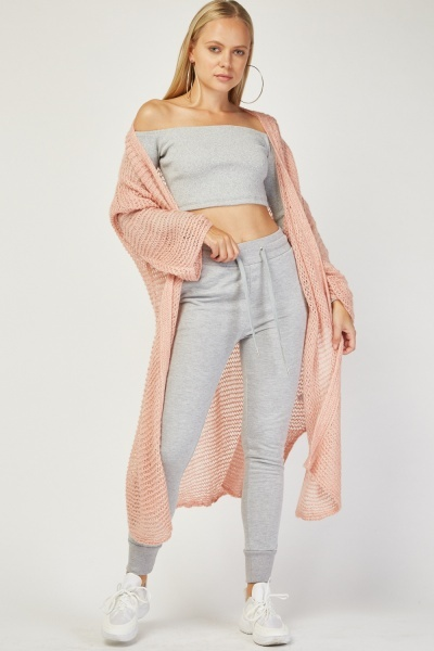 Slouchy Loose Knit Cardigan
