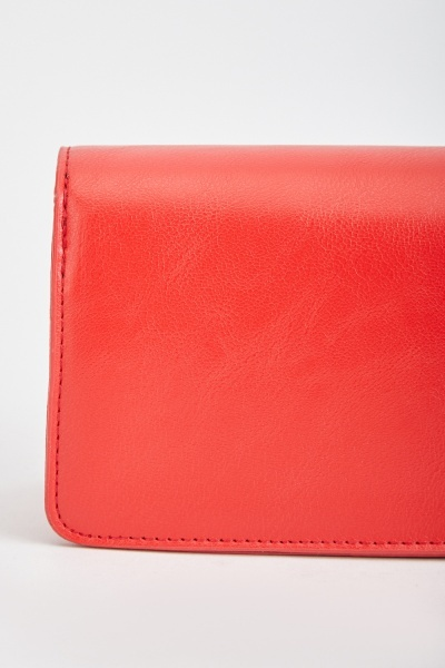 Faux Leather Textured Bag