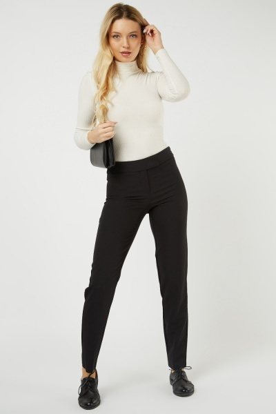 High Rise Cigarette Trousers