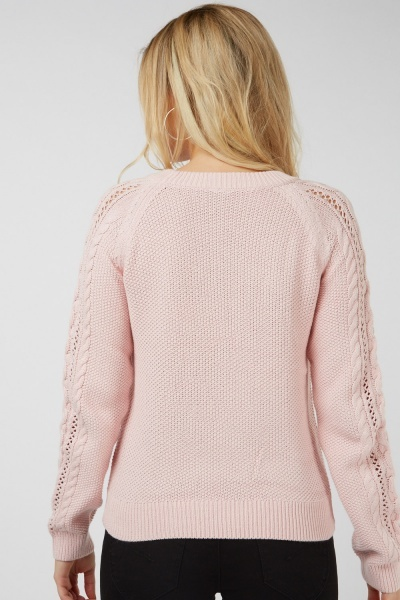 Mix Knitted Jumper