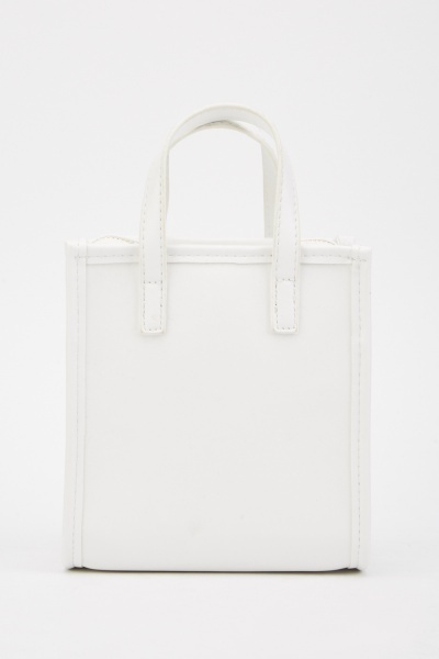 Double Handle Mini Tote Bag