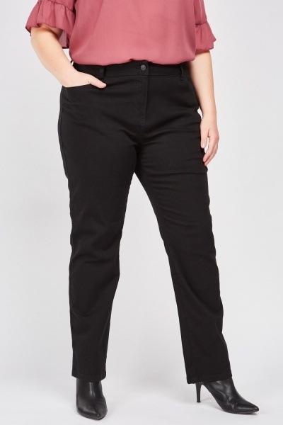 Slim Mid Rise Jeans