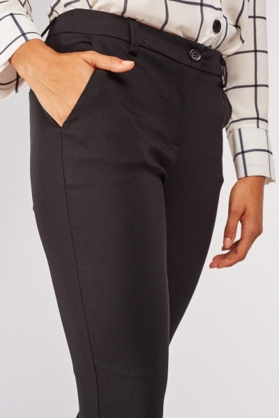 Crop Length Peg Trousers