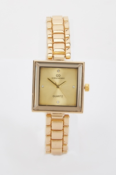 Square Shaped Ladies Watch