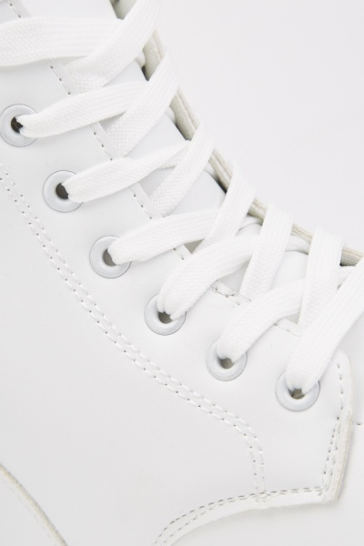 Lace Up High Top Sneakers