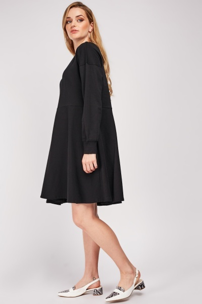 Skater Sweatshirt Dress