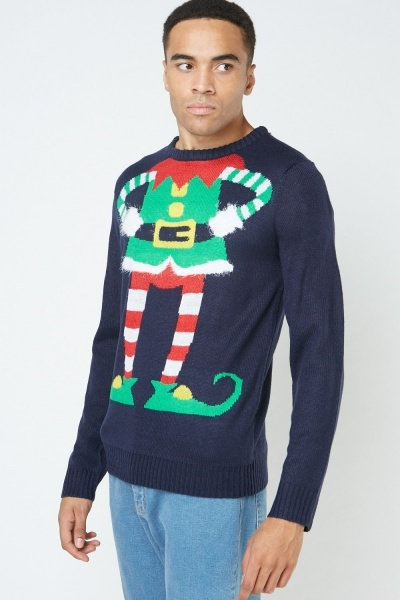 Elf Body Christmas Jumper
