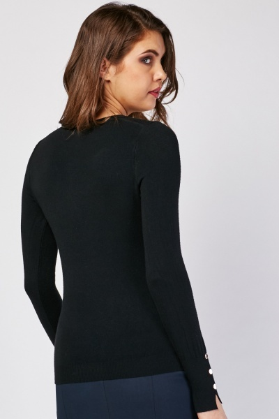 Fine Knitted Round Neck Sweater