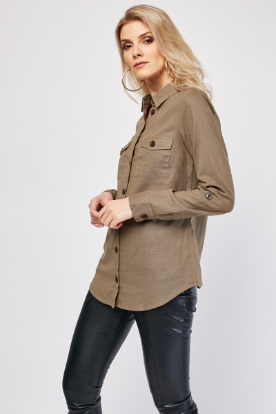 Long Sleeve Safari Shirt