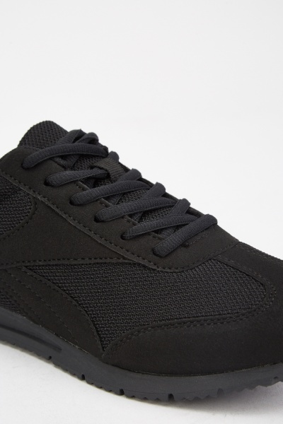 Lace Up Mens Trainers