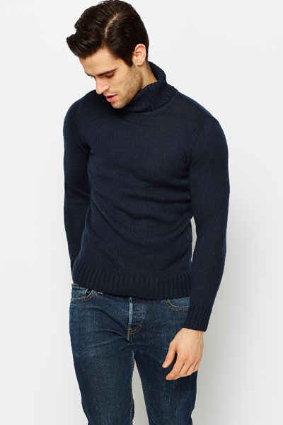 Roll Neck Speckle Jumper