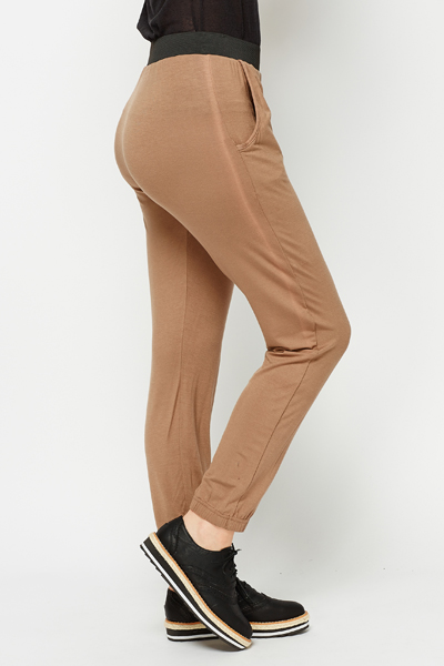 Elasticated Harem Trousers