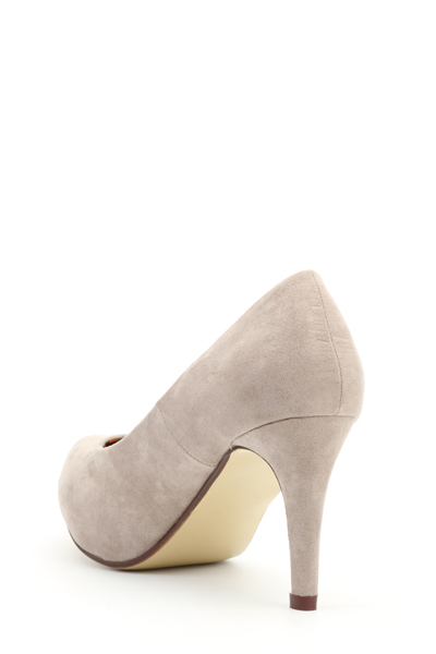 Classic Suedette Court Shoes