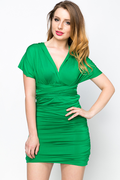 Multi Wear Wrap Dress