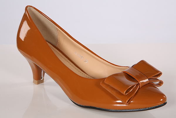 Patent PVC Classic Bow Shoes