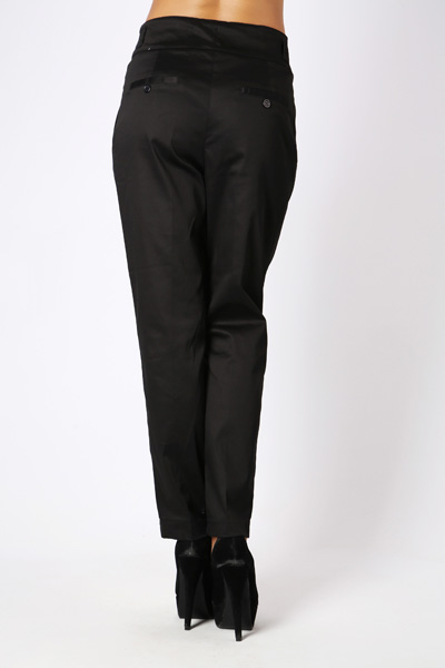 Pleated High Waist Trousers