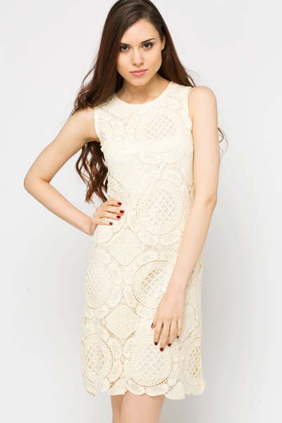 Lace Crochet Dress