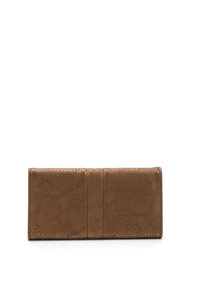 Textured Faux Leather Purse