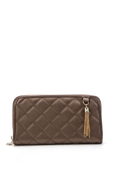 Chain Tassle Quilted Purse