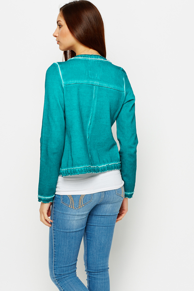 Faded Zip Jacket