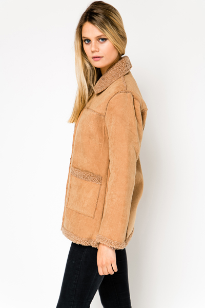 Sherpa Trim Coat