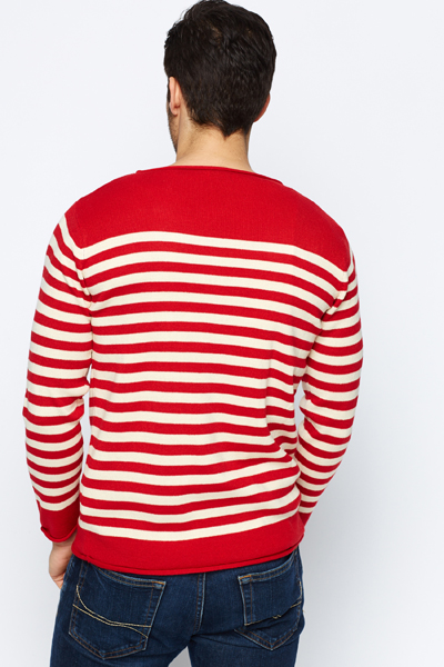 Contrast Stripe Jumper