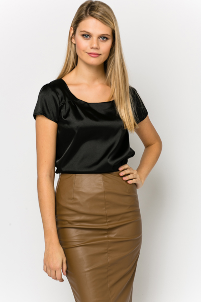 Satin Feel Blouse