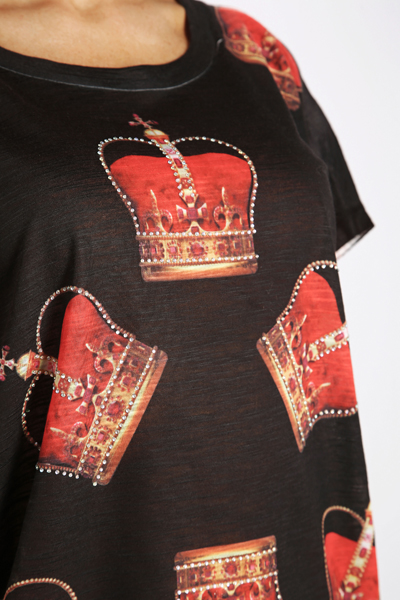 Crown Sequin Top
