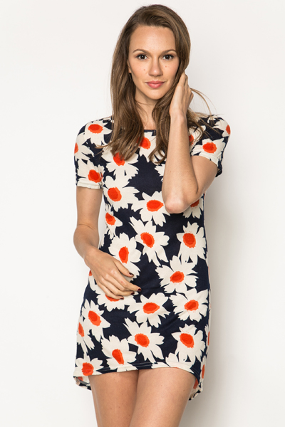 Daisy Fleece Tunic Dress