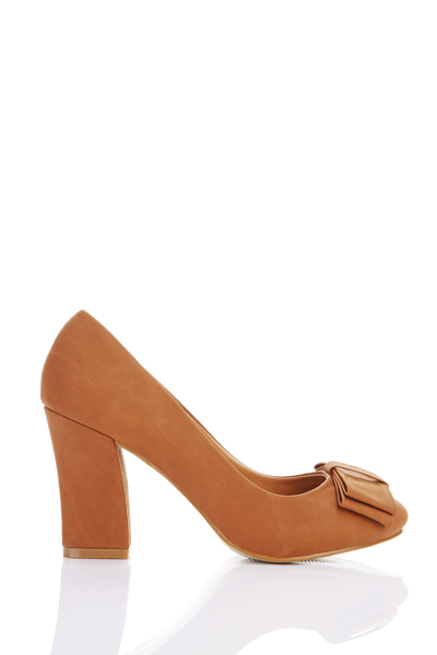 Double Layered Toe Pump Shoes