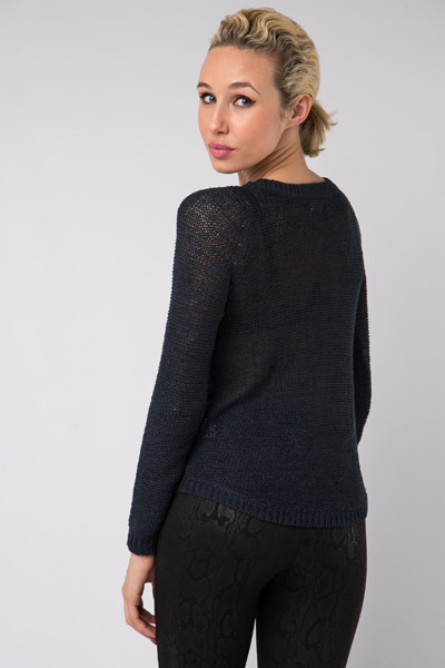 Garter Knit Jumper