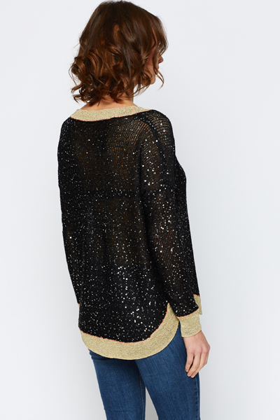 Sequined Party Jumper
