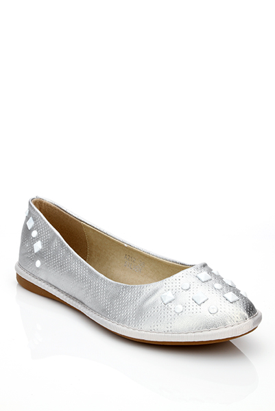 Encrusted Small Wedge Flats