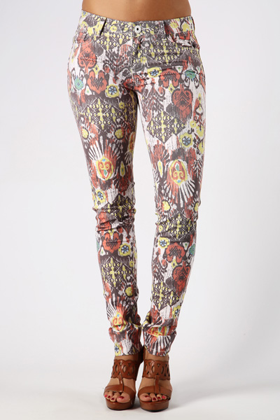 Colourful Aztec Trousers