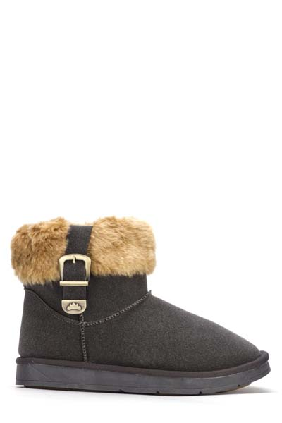 Faux Fur Snug Boots