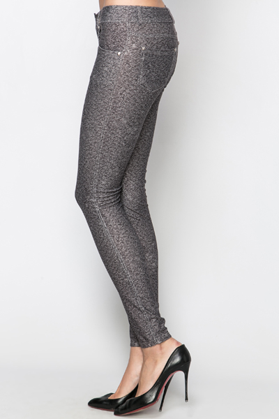 Diamante Pocket Treggings