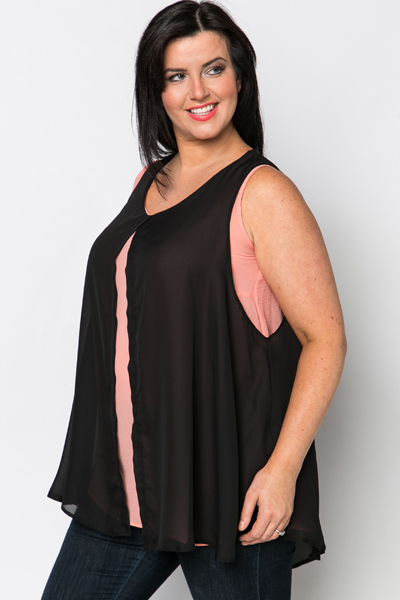 Chiffon Layer Top