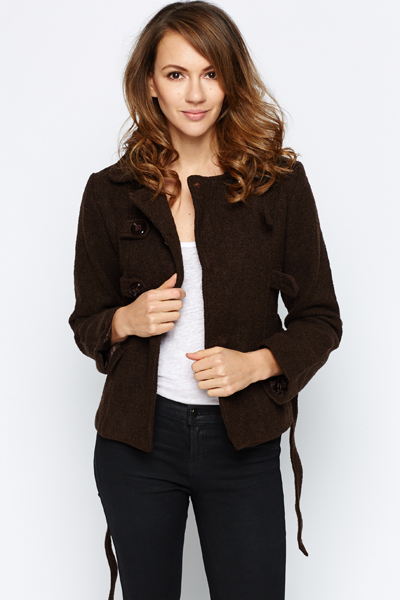 Double Button Front Jacket