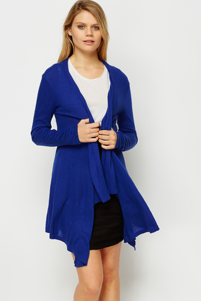 Blue Waterfall Cardigan - Just £5