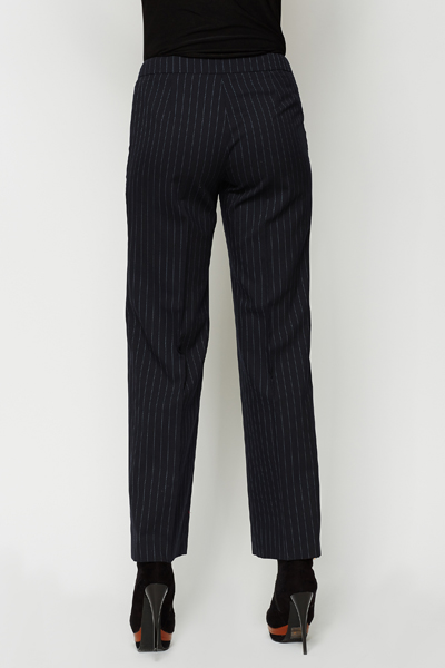 Wool Blend Smart Trousers