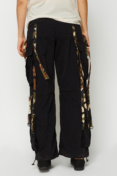 Fringed Combat Trousers