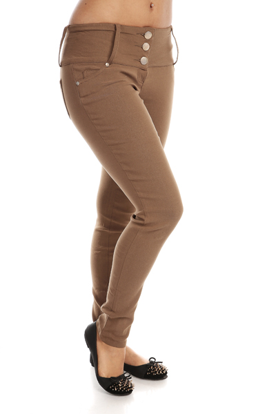 Classic High Waist Trousers
