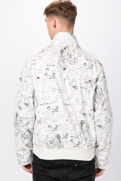 Graphic Print Outer Jacket