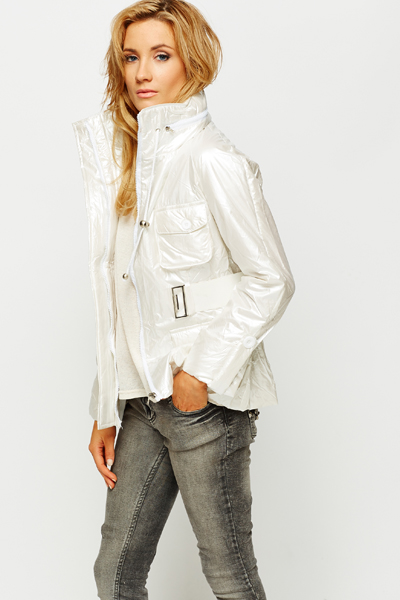 Belted Outerwear Jacket