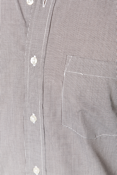 Small Check Grey Shirt
