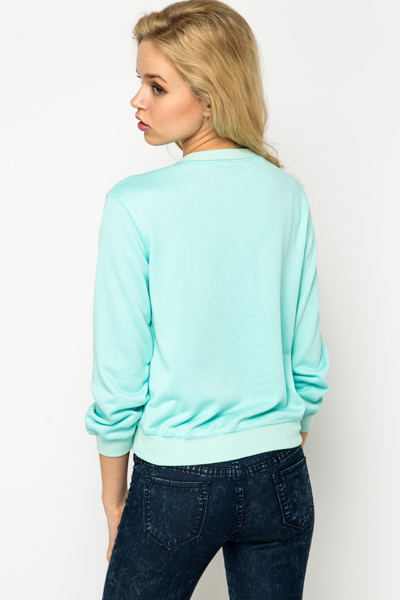 Jewel Embellished Sweater