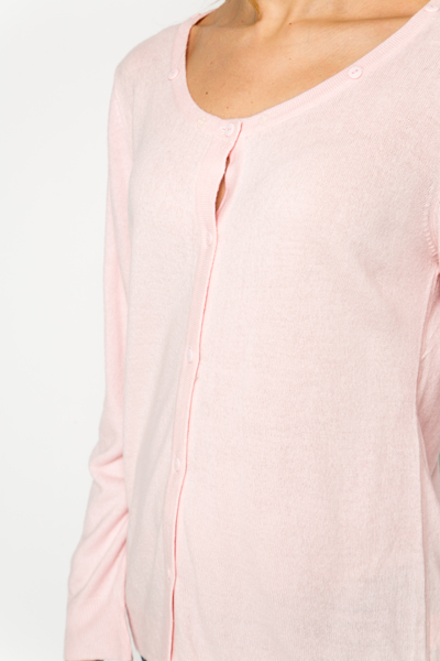 Buttoned Collar Cardigan