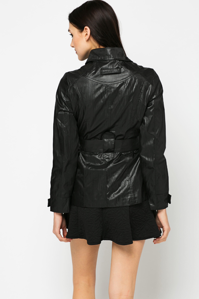 Drawstring Pocket Jacket