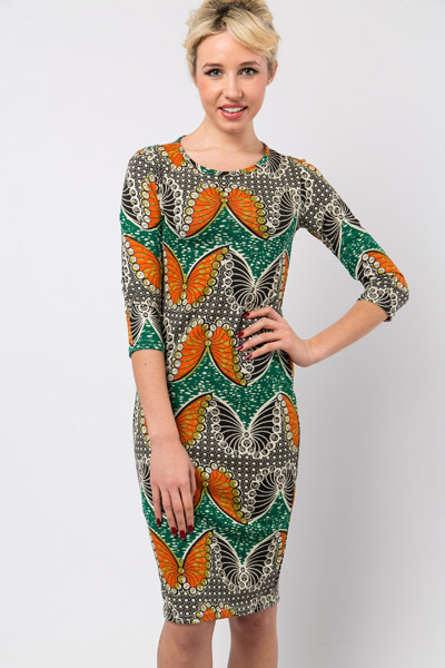 Retro Butterfly Dress
