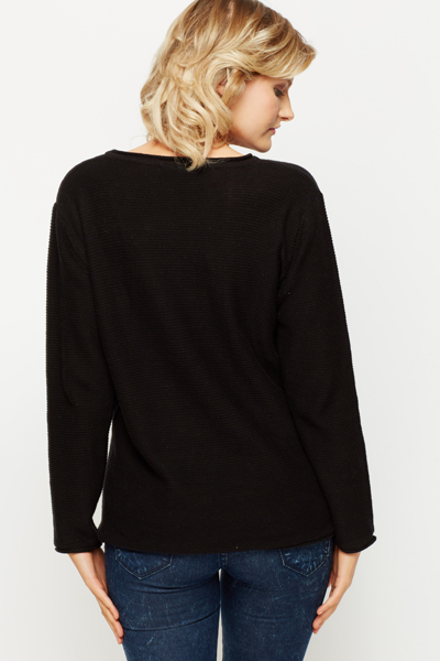 Cotton Round Neck Pullover